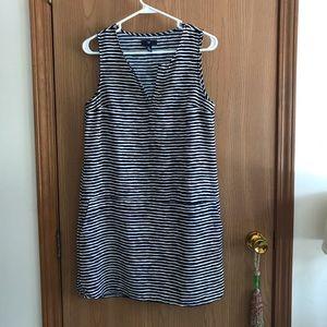 Gap Striped Shift Dress - Sz small